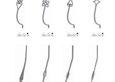 estilos variados de forja
