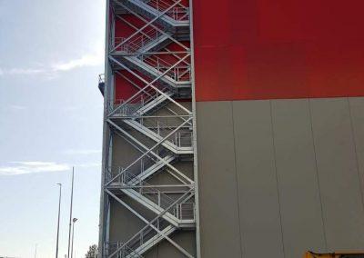 estructura metalica nave industrial en ponferrada