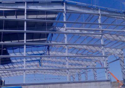 estructura metalica nave industrial ponferrada